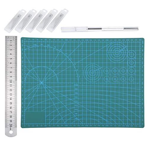 Tapete de corte A4, Tapete de corte de tela para tallas de papel artesanal, Tapetes para tabla de cortar de corte de película negativa