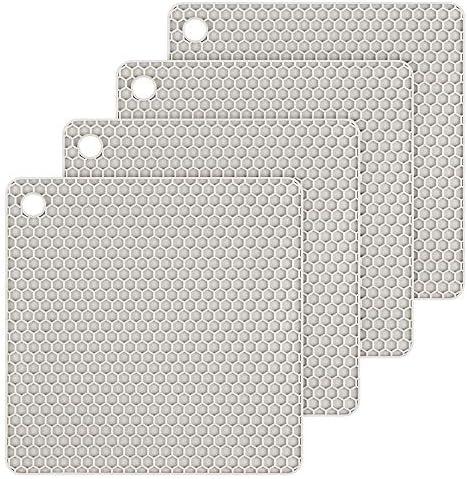Silicone Trivet Mats Hot Potholders Hot Pads Durable Non Slip Coasters Heat Resistant Trivet product image