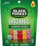 Black Forest Organic Gummy Bears, Assorted Fruit Flavors, 8 oz