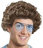 Balinco Set con Parrucca Star della Commedia + Occhiali da Sole per vestirsi Come Una VIP della Commedia della TV