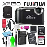 Fujifilm FinePix XP130 Waterproof Digital Camera (Silver) Advanced...
