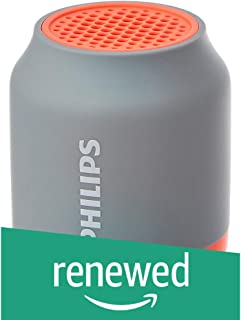 (Renewed) Philips BT50G Portable Wireless Bluetooth Speaker (Grey)
