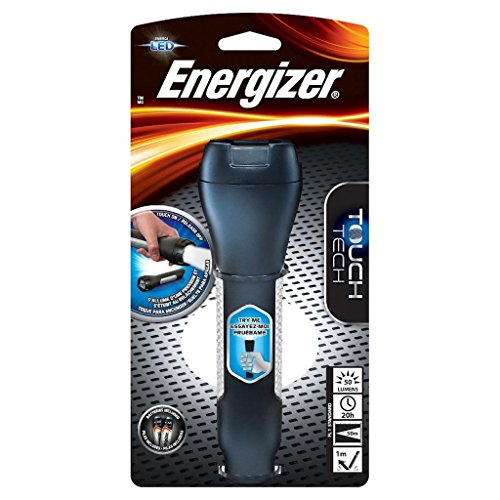 Energizer TOUCH TECH LED Flashlight, Touch-Activated Flashlight, Bright LED Light, Extended Battery Life, Durable Design, (Batteries Included)