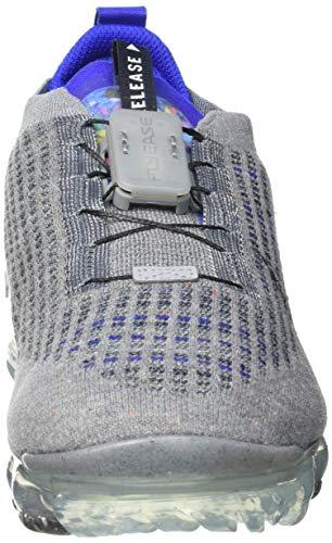 Nike Air Vapormax 2020 FK, Zapatillas para Correr Hombre, Particle Grey Dk Obsidian Racer Blue White Iron Grey Black, 43 EU