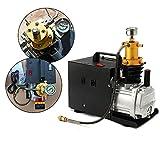 Bomba de aire de alta presión eléctrica 300 bar, 40 MPA, 4500 PSI, compresor de aire PCP, para botella de inmersión, botella industrial, rifle neumático, 220 V, 1,8 kW