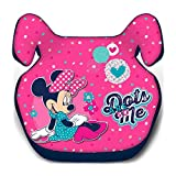 Child Car Booster Seat Group 2/3 (15-36 kg) Genuine Disney (Minnie Mouse)