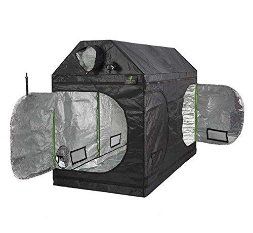 gardeners corner Hydroponics Premium Loft Attic Grow Tent 600D Mylar Indoor Roof Cube Dark Room (150(L) x 150(W) x 180(H))
