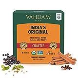 Original indio Masala chai té, 30 bolsitas de té, 100% especias naturales y sin aditivos mezclados y envasados en la India, té negro, cardamomo, canela, pimienta negra, clavo de olor