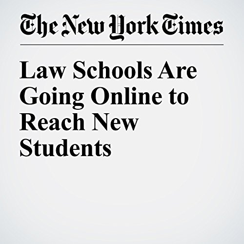 Law Schools Are Going Online to Reach New Students cover art