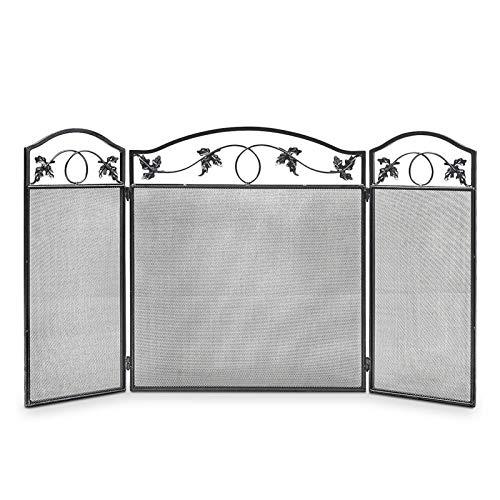 Antichispas para chimenea Puertas plegables de la pantalla de la chimenea de...
