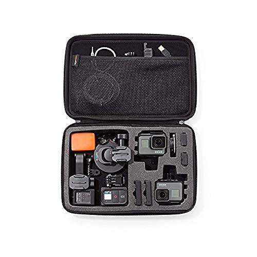 Amazon Basics - Estuche de transporte para GoPro - Grande