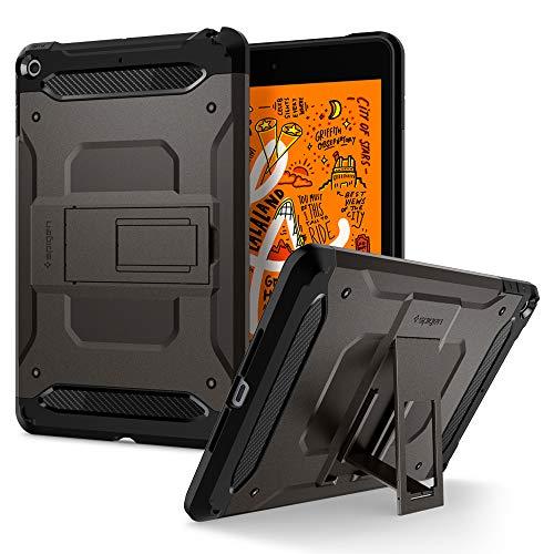 Spigen Tough Armor Tech Kompatibel mit iPad Mini 5 Hülle (7.9 inch, 2019) - Gunmetal