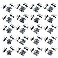 KKHMF 20個 双方向ロジックレベル変換モジュール 4チャンネル 4ch IIC I2C 5V⇔ 3.3V Arduino対応