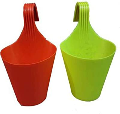 PALOMINO Plant Container Set (Pack of 2, Plastic)