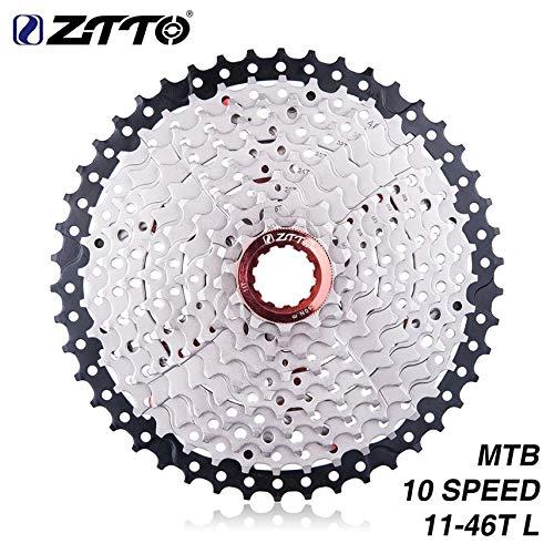 Ztto 10 Speed   11-46T breedte-verhouding cassette voor mountainbikes compatibel