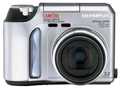 Olympus Camedia C-730 3MP Digital Camera w/ 10x Optical Zoom