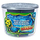 Dragons, The Hidden World, Bucket with Dragons and Vikings, 25 Characters to Collect, 4 cm Tall, from 4 Years and up