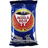 Cafe Aguila Roja 100% Pure Roasted Colombian Coffee 250grs 2 Pack