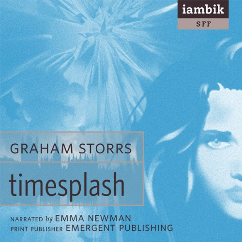 TimeSplash audiobook cover art