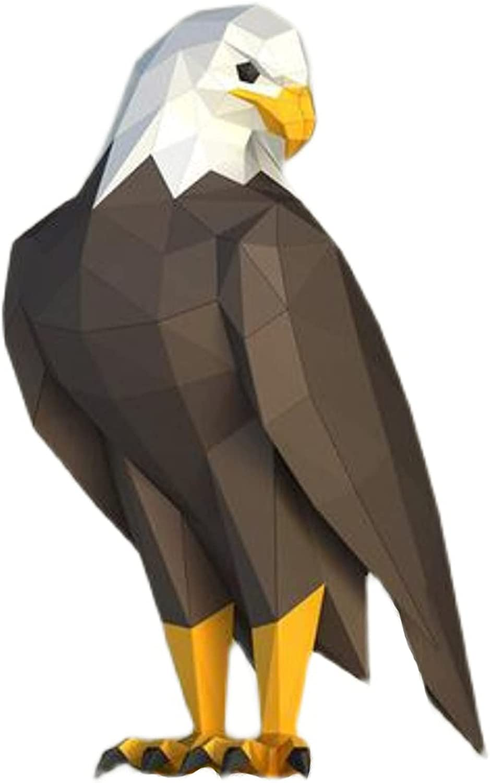 WLL-DP Brand new Hawk Limited price Shape DIY Paper Model Home Geometric Orna Decoration