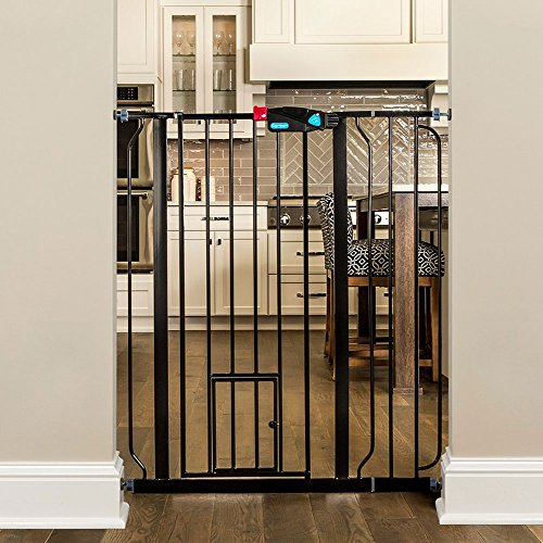 Carlson Extra-Tall Walk-Through Pet Gate