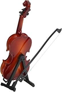 Wooden Violin Model Quality Basswood Miniature Violin Family