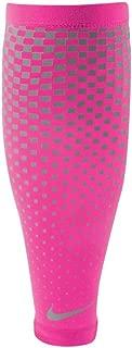 Nike Dri-Fit 360 Calf Sleeves (1 Pair, Small, Hyper Pink/Silver)