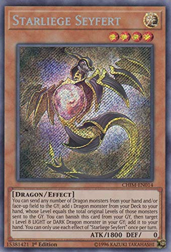 Yu-Gi-Oh! - Starliege Seyfert - CHIM-EN014 - Secret Rare - 1st Edition - Chaos Impact
