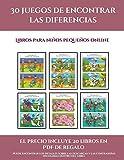 Libros para niños pequeños online (30 juegos de encontrar las diferencias): Cómprelo mientras queden existencias y reciba 20 libros en PDF adicionales ... Más de 600 fichas imprimibles en total (10)