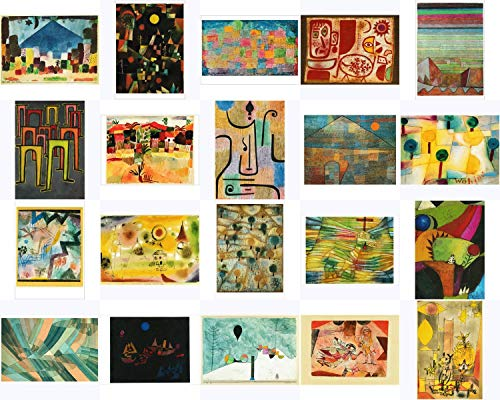 Kunstkarten-Topseller-Set Paul Klee