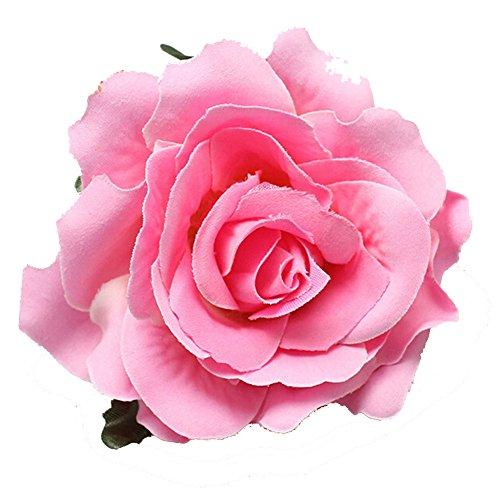 ILOVEDIY 1X Haarblumen Haarblüten Haarschmuck Haarsprange Blumen Rose Blüten Damen Accessoires Haarschmuck viele Farben
