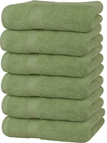 Utopia Towels Handtücher, Baumwolle, 600 g/m², 6 Stück