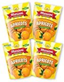 Mariani Mediterranean Dried Apricots -6oz (Pack of 4) –Delicately Sweet with No Sugar Ad...