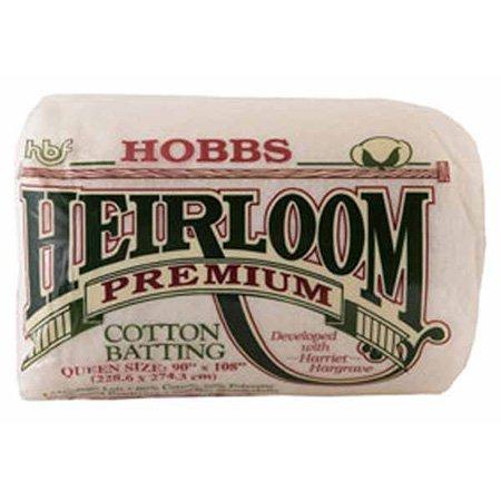 Hobbs Batting Heirloom 80/20 algodão/poliéster King Size Quilt Batting