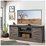Becko Farmhouse TV Stand Entertainment Center tv Table for 65 Inch TVs Vintage Rustic Media Console...