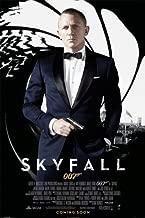 BEYONDTHEWALL Archive James Bond Skyfall One Sheet Action Mystery Spy Movie Film Poster Print (24X36 UNFRAMED Poster)