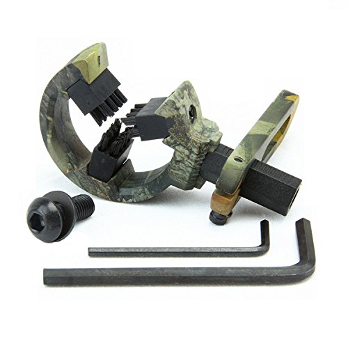 Lzwow Arrow Rest for Compound Bow Hunting for Left Right Hand Brush Capture Camo
