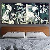Guernica Famous s Reproductions Work by Picasso Puzzle de Juego de Rompecabezas Grande 1000 Piezas 75x50cm Regalo de Juguete de Juego de descompresión de Rompecabezas de Madera Grande