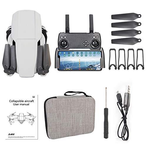 CSJ-X2 - Dron plegable GPS con cámara 4K, transmisión en vivo Full HD, Follow Me, control por aplicación, modo sin cabeza, dron plegable RC Quadrocopter para principiantes