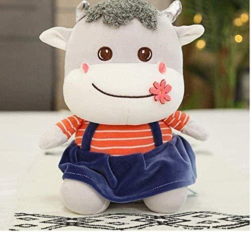 DINGX Juguete de peluche de venda de vaca lindo de felpa suave almohada de pelo de los niños de dibujos animados de juguete de los niños regalo de 40 cm chuangze