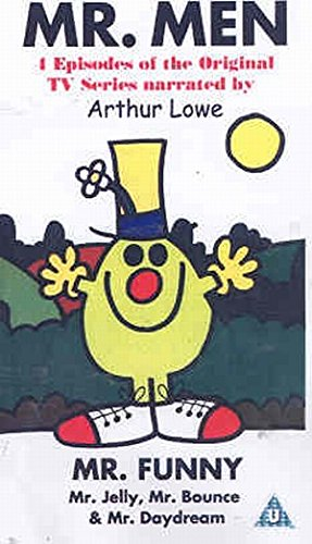 Mr. Men - Mr. Funny, Mr. Jelly, Mr. Bounce & Mr. Daydream [VHS]