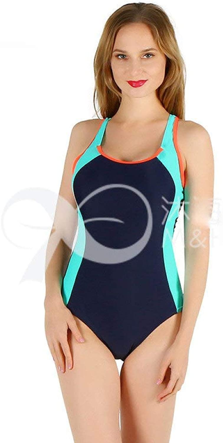 Sexy Siamese Swimwear Women's Swimwear Venue Recreation Equipment, Fitness Body, Swimming Wade, Other Ball Games (color   A, Size   CA 9)