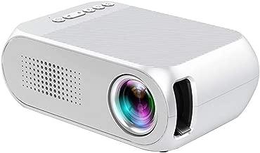 TOPQSC Mini Proyector Portátil, Reproducción HD 1080P,