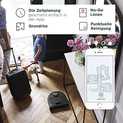 Neato Robotics Botvac D402 Connected – Saugroboter Alexa kompatibel & für Tierhaare – Automatischer Staubsauger Roboter mit Ladestation, Wlan & App - 6