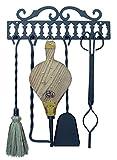 Imex El Zorro 10019 Percha cuelga útiles con 5 utensilios (43 cm)