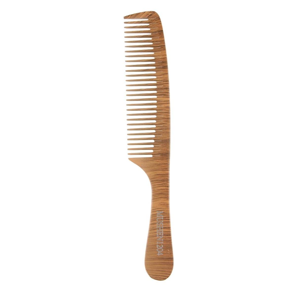 め言葉固める拡声器木の理髪のスタイリングの櫛、大広間およびホテルのヘアケアツールのための頑丈な細かい歯の毛の櫛 - 1204
