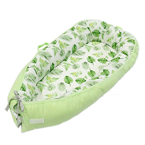 For Sale! SZBYKJ Baby Nest,Double-Sided Newborn Sleep Bed Multi Baby Nest, Baby Nest for Crib Portab...