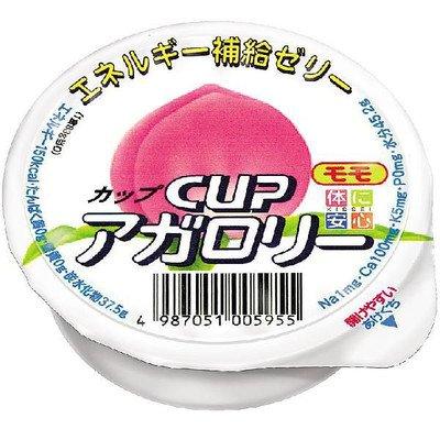 カップアガロリー モモ 83g×1個 【医療食】