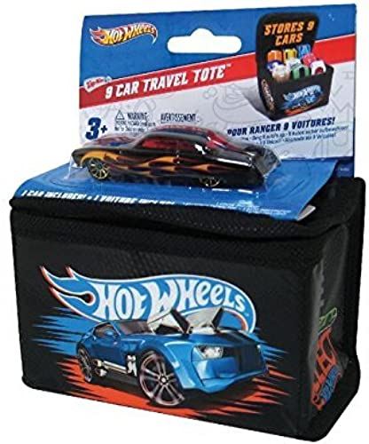 Neat-Oh Hot Wheels 9 Car Travel Tote with Car (Car Styles May Vary) by Neat-Oh