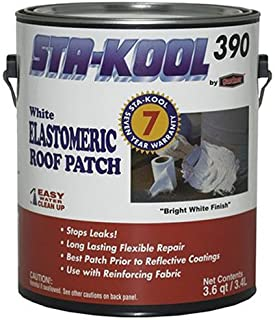 Gardner-Gibson SK-3901 Elastomeric Acrylic Sealant Roof Patch, 1 gal, White